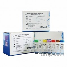 SARS-CoV-2 és Influenza A/B Real-time PCR kit